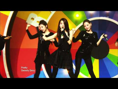 Rainbow - Gossip Girl, 레인보우 - 가십 걸, Music Core 20091114