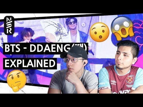 GUYS REACT TO BTS 'DDAENG Explained by a Korean'