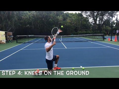 Improve your kick-serve with these 6 simple steps. Tennis with Coach Dabul world #1 jrs and #70 ATP