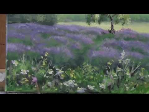 Acrylic Painting Demo -
