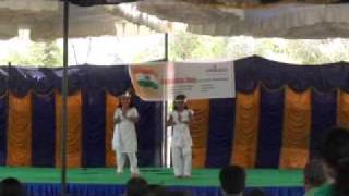 Dance on medley of patriotic songs