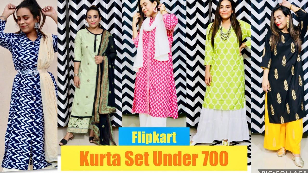 Flipkart Kurta Set Haul    Under 700 Only    Party And Office Wear    2020