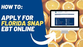 How to Apply for Florida Food Stamps Online