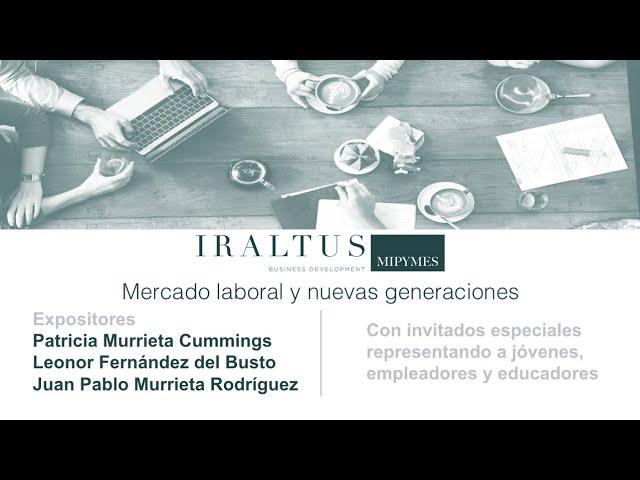 Webinar: Mercado laboral y nuevas generaciones