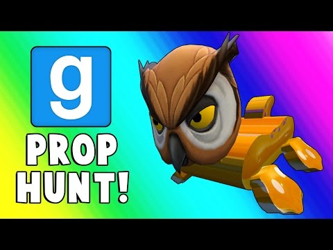 Thumbnail: Gmod Prop Hunt Funny Moments - Snack House & Barrel Room! (Garry's Mod)