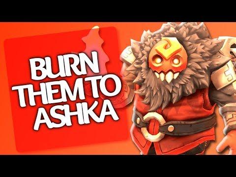 ✿ Battlerite Ashka Pro Gameplay - Burn Them To Ashka!   Smoof