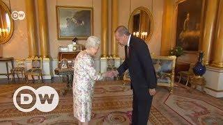 Kraliçe Elizabeth ile Erdoğan görüşmesi - DW Türkçe