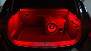 Opel Astra j подсветка в багажнике