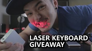 Virtual Laser Keyboard ? Is It EVEN REAL? +GIVEAWAY