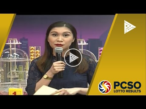 WATCH: PCSO 9 PM Lotto Draw, January 17, 2018