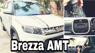 Maruti Suzuki Brezza AMT - real life review!