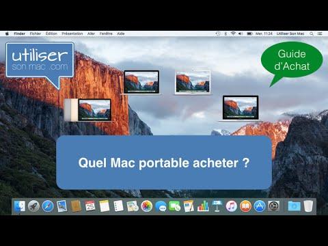 Guide d'achat - Quel Mac portable acheter (fin 2015)