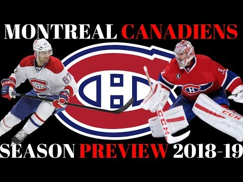 NHL Season Preview 2018-19 - Montreal Canadiens