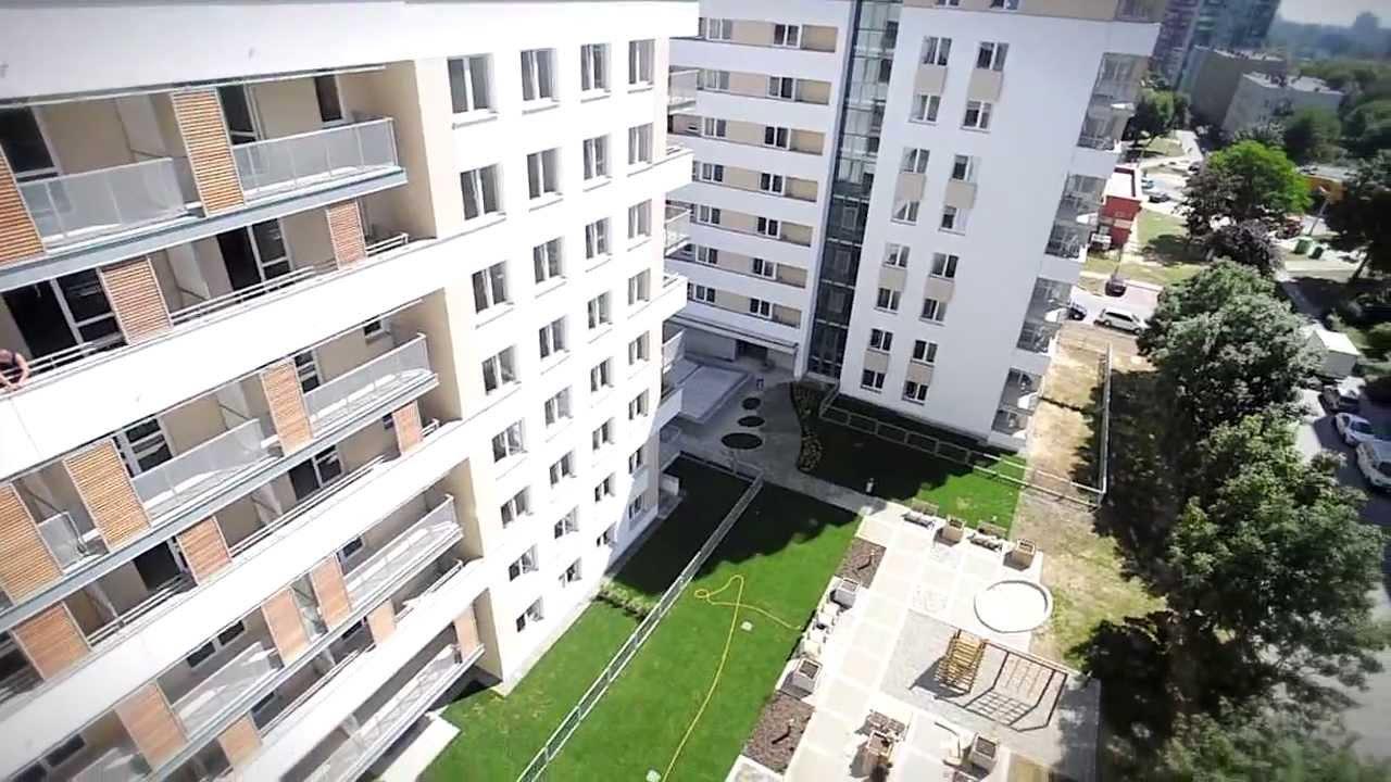 Osiedle Avia Budowa I Etapu Nowe Mieszkania Kraków Czyżyny Youtube