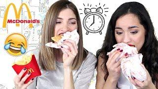3min Challenge: McDonald's ft. Eleonora | Katerina Zgr
