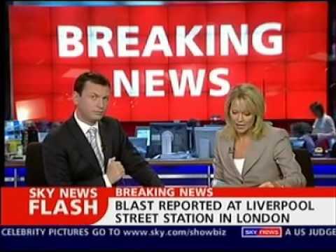 7/7 London bombings - Sky News coverage