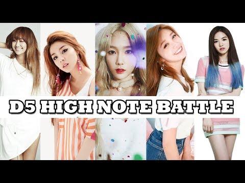 Who Belts The Best D5?|K-Pop Female Vocalists