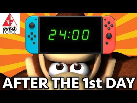 Nintendo Switch - FIRST 24 HOURS WITH THE SYSTEM AND GAMES!!