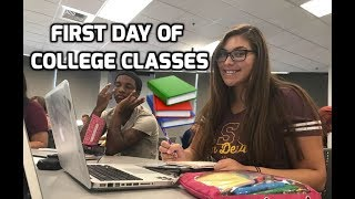 First Day of Freshman Year College Classes | Arizona State University