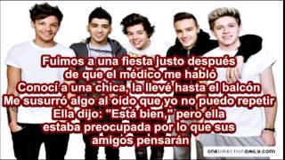 One Direction - Alive  (Letra en Español)