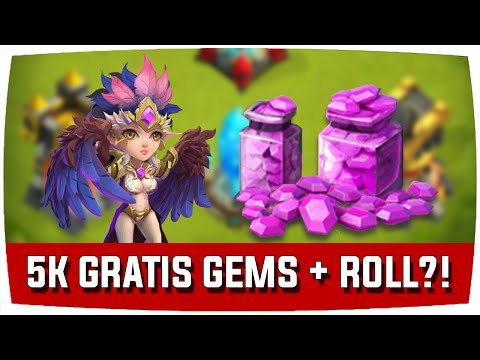 Castle Clash | 5K GRATIS GEMS + ROLL?! ♦ Schloss Konflikt [Deutsch]