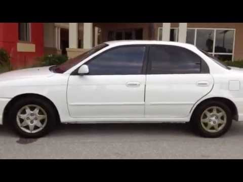 2002 KIA SPECTRA STARTING UP, ENGINE, TEST DRIVE, IN DEPTH REVIEW