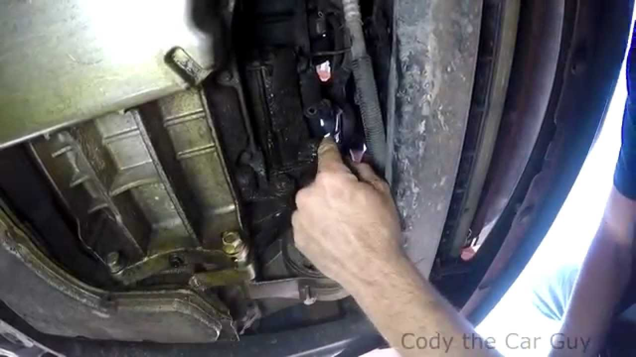 Chevy HHR starter location and removal - YouTube