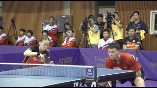 Unified Table Tennis Team of S Korea and DPRK Wins 1st Victory in Preliminary of International Event