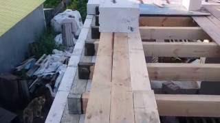 видео Межэтажные перекрытия для дома из газобетона
