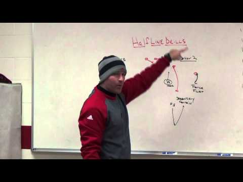 Half Line Drills to Teach Coverages