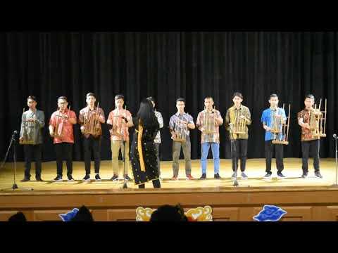 Indonesia Raya Angklung Version | Indonesian Week 2017 (印尼 文化節) PPI Taiwan
