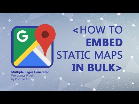 How To Embed Static Maps To Landing Pages