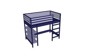 Loft Bed Plans Free