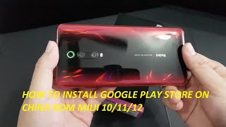 How To Install GOOGLE PLAY on ANY Xiaomi Smartphone - Easy Way.