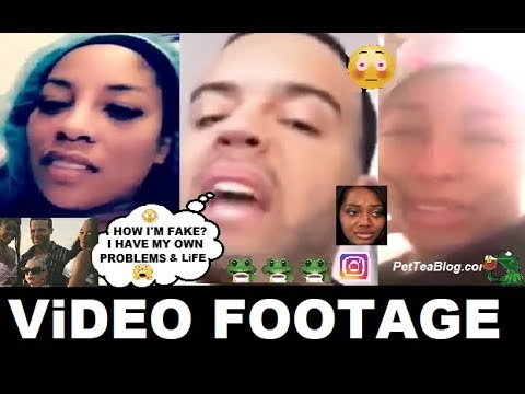 Jonathan Goes Completely Off on K Michelle while she still in....Video ☕