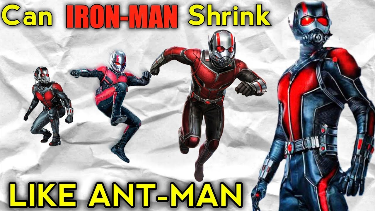 Can Ironman Shrink like Ant-Man Explained in Hindi (SUPERBATTLE)
