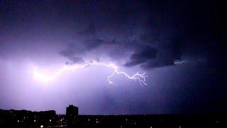 Гомель ночная гроза (20 июля 2014) - Gomel night thunderstorm