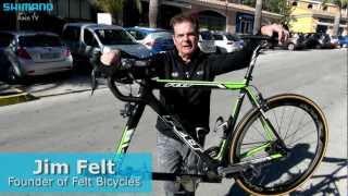Felt director Jim Felt about the Argos-SHIMANO team bike
