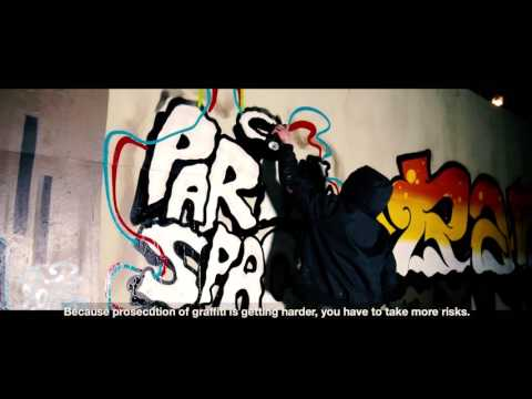 Video clip of the Graffiti Crew, action research project of the Frankfurt team