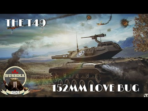 The T49 Love Bug World of Tanks BLitz OMG ITS SO MUCH FUN