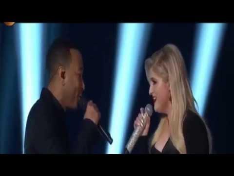 Meghan Trainor   Like I'm Gonna Lose You Feat John Legend Live 2015