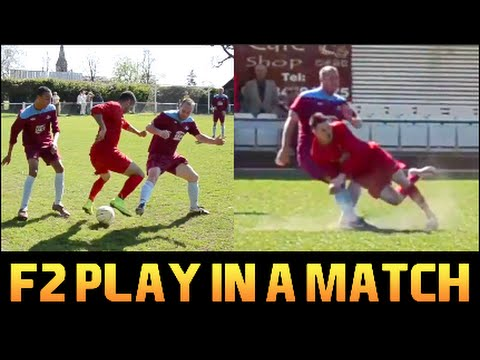 Thumbnail: F2Freestylers Play in a real Match!