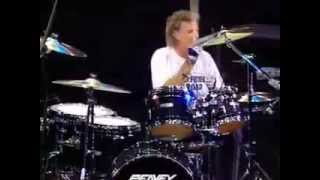 "Grand Funk -  How to play ""American Band"" drum intro"