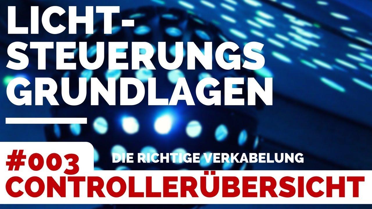 Licht-Steuerung Grundlagen für DJs #003 | Übersicht DMX Software ...