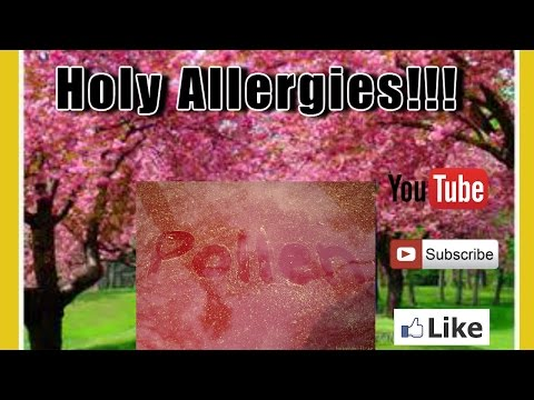 Holy Allergies!