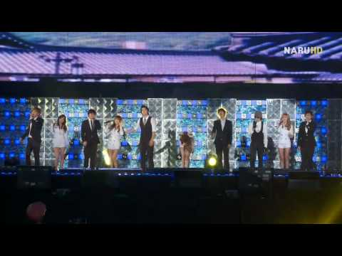 [FanCam] 090919 SNSD & Super Junior - Seoul Song @ 2009 Asia