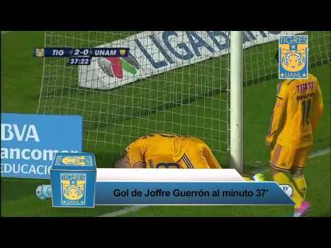 Resumen J8 Tigres Vs Pumas Clausura 2015