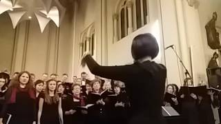 Latvian Choir in Luxembourg, Meluzina perfoming Gaismas Pils