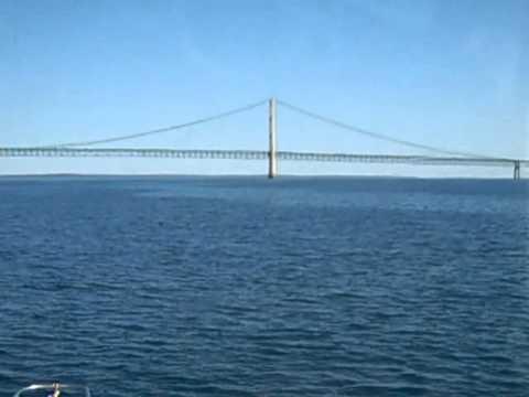 Boat trip 8, Mackinaw Bridge