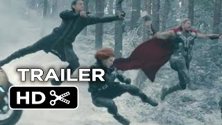 Avengers: Age of Ultron TRAILER 3 (2015) - New Avengers Movie HD